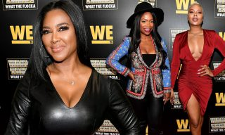 Eva Marcille Impresses Fans With A Photo Featuring Kandi Burruss And Kenya Moore – See The Ladies' Amazing Look