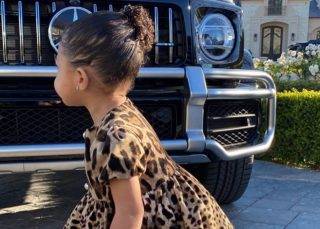 Stormi Webster Is Creating Fashion Trends In Dolce & Gabbana