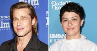 Brad Pitt Spotted Grabbing In-N-Out in L.A. With Pal Alia Shawkat