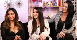 'Jersey Shore' Women Reveal Their Celebrity Crushes in 'Candlelight Confessions'