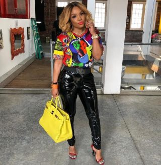 Rasheeda Frost Flaunts Her Natural Hair While Showing Off New Gorgeous Outfits From Pressed Boutique