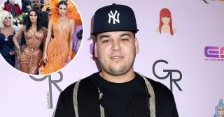 Big 3-3! Kim, Kendall, Kris Wish Rob Kardashian a Happy Birthday