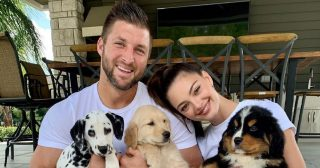 Tim Tebow, Wife Demi-Leigh Nel-Peters Get 3 New Puppies: 'Happy Family'