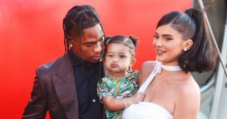 Travis Scott Hangs Out With Kylie Jenner, Daughter Stormi Amid Quarantine