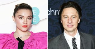Florence Pugh Posts Cute Pic of BF Zach Braff for His 45th Birthday