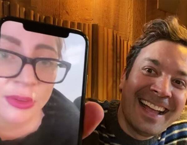 Jimmy Fallon's FaceTime Call With Lady Gaga Didn't Exactly Go as Planned