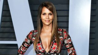 Halle Berry Gives Fans An Eyeful Of Her Killer Curves In Bed Selfie While Wearing Ellen DeGeneres Boxers