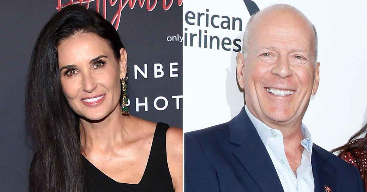 Demi Moore, Bruce Willis Have 'Family Paint Night' With Daughters in Idaho