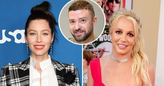 How Jessica Biel Feels About Justin Timberlake, Britney Spears Exchange
