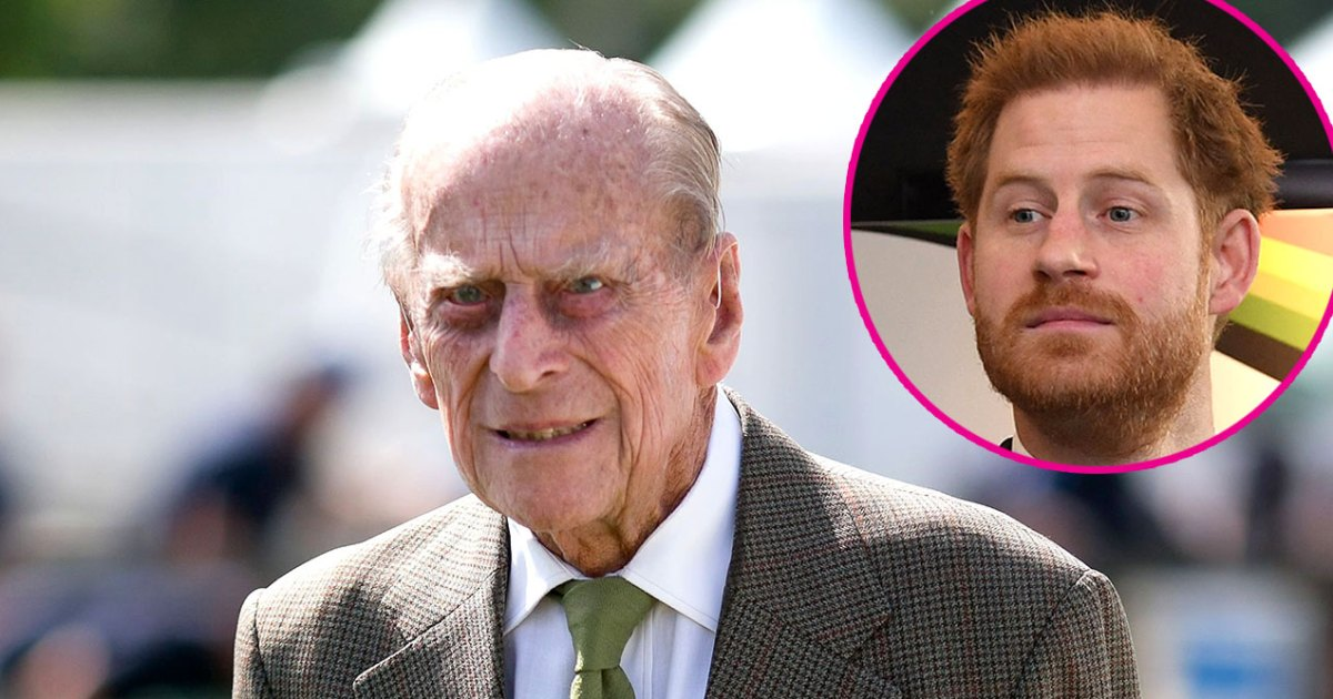 Prince Philip Issues Rare Statement on COVID, Harry Stresses 'Selflessness'