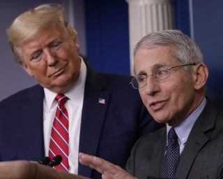 President Donald Trump Seems To Be Mulling The Idea Of Firing Dr. Anthony Fauci Who Confirmed That He Could Have Saved American Lives If He Had Acted Earlier When It Comes To The Coronavirus Pandemic