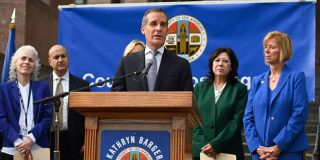 Los Angeles is now the first major city to offer COVID-19 tests to anybody who wants one, Mayor Eric Garcetti announced Wednesday