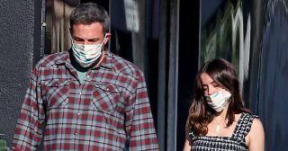 Ben Affleck and Ana Wear Masks on Stroll: They 'Love Spending Time by Themselves'