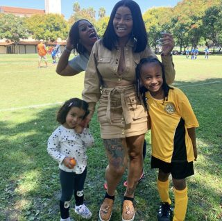 Blac Chyna's Easter Pics With King Cairo And Dream Kardashian Have Fans Criticizing Her