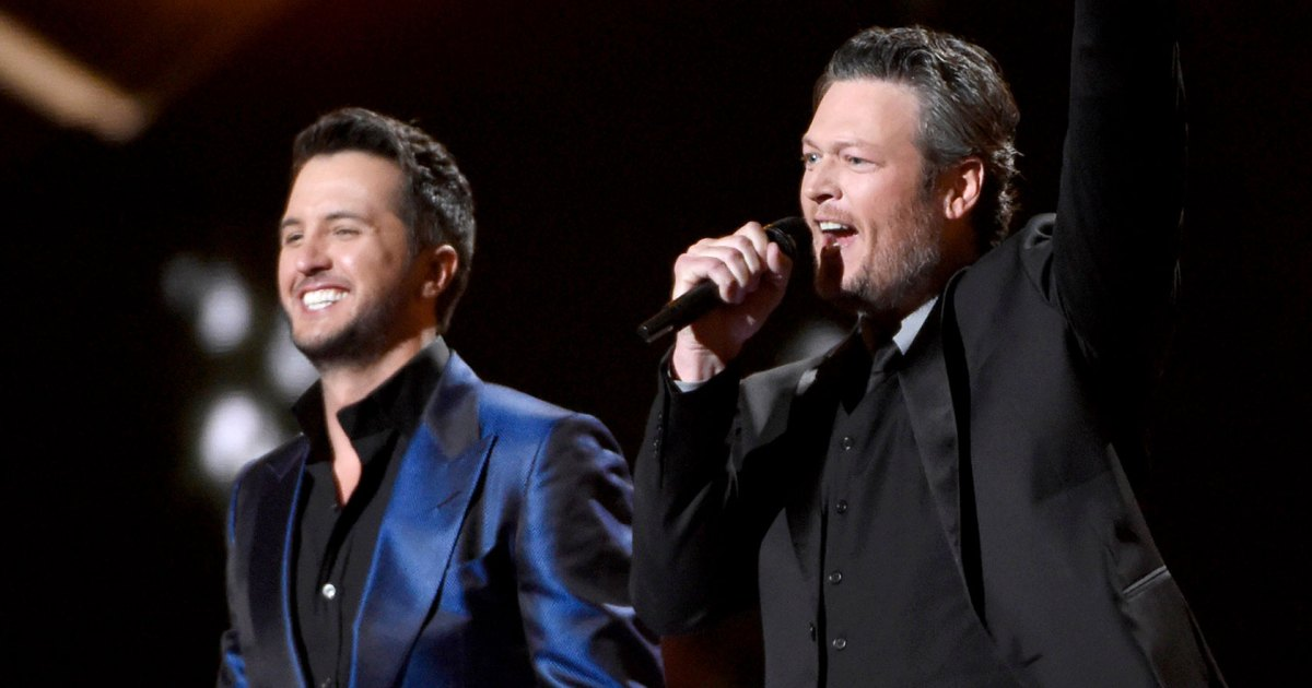 Awkward! Luke Bryan Was Mistaken for Blake Shelton on a Local News Station