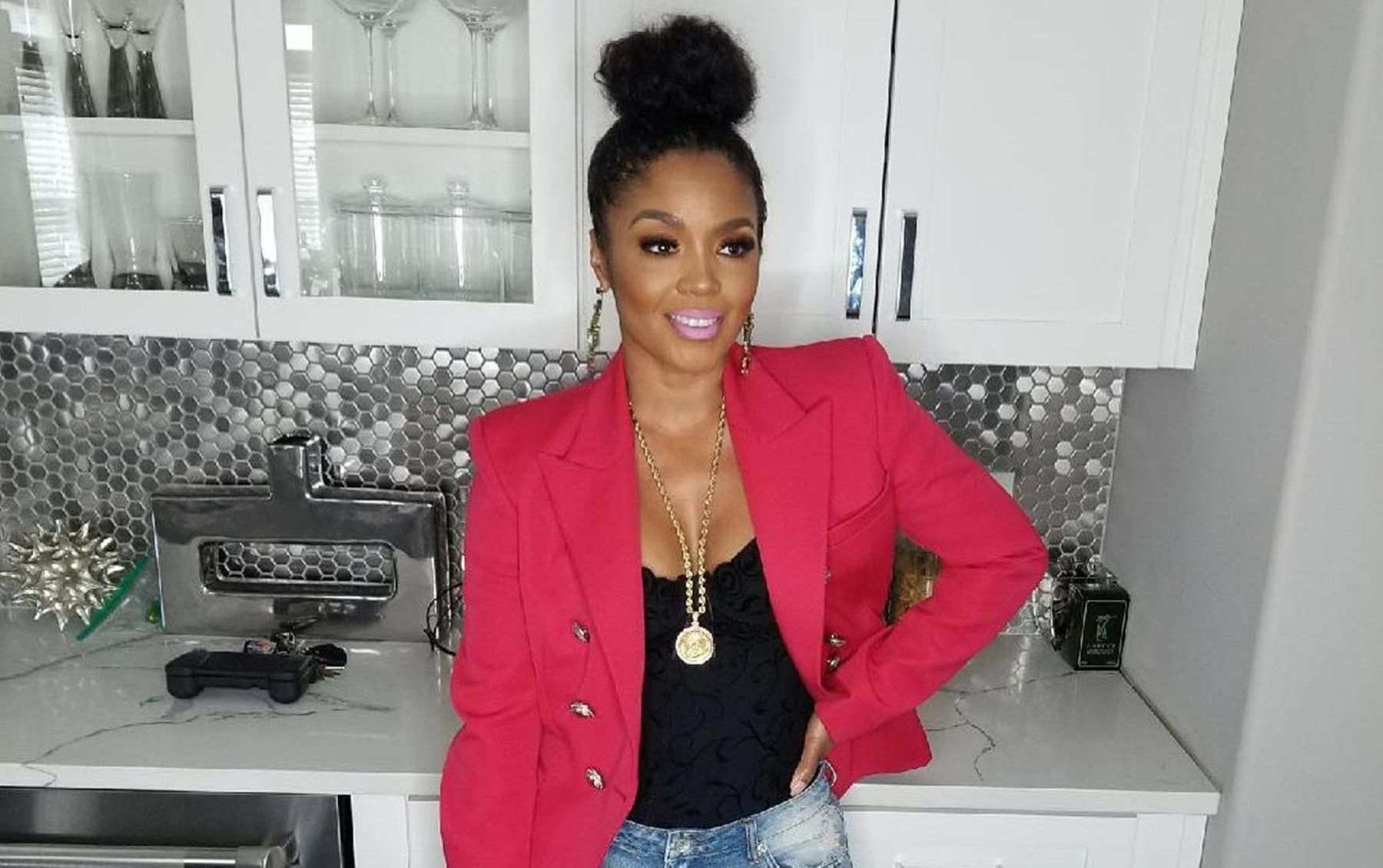 Rasheeda Frost Is Showing Off Her Toned Legs In A See-Through Dress And Sparks Pregnancy Rumors Following Terrible Accusations