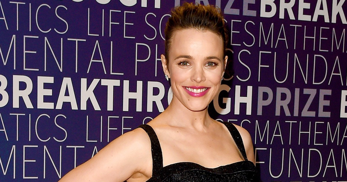Rachel McAdams Says Her Son Is a 'Welcome Distraction' During Quarantine