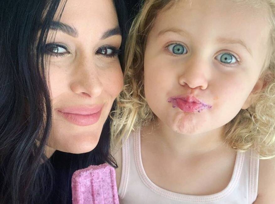 Brie Bella, Birdie Danielson, Instagram, April 2020