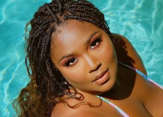 Lizzo Puts Her Beach Body On Full Display In New Swimsuit Photos