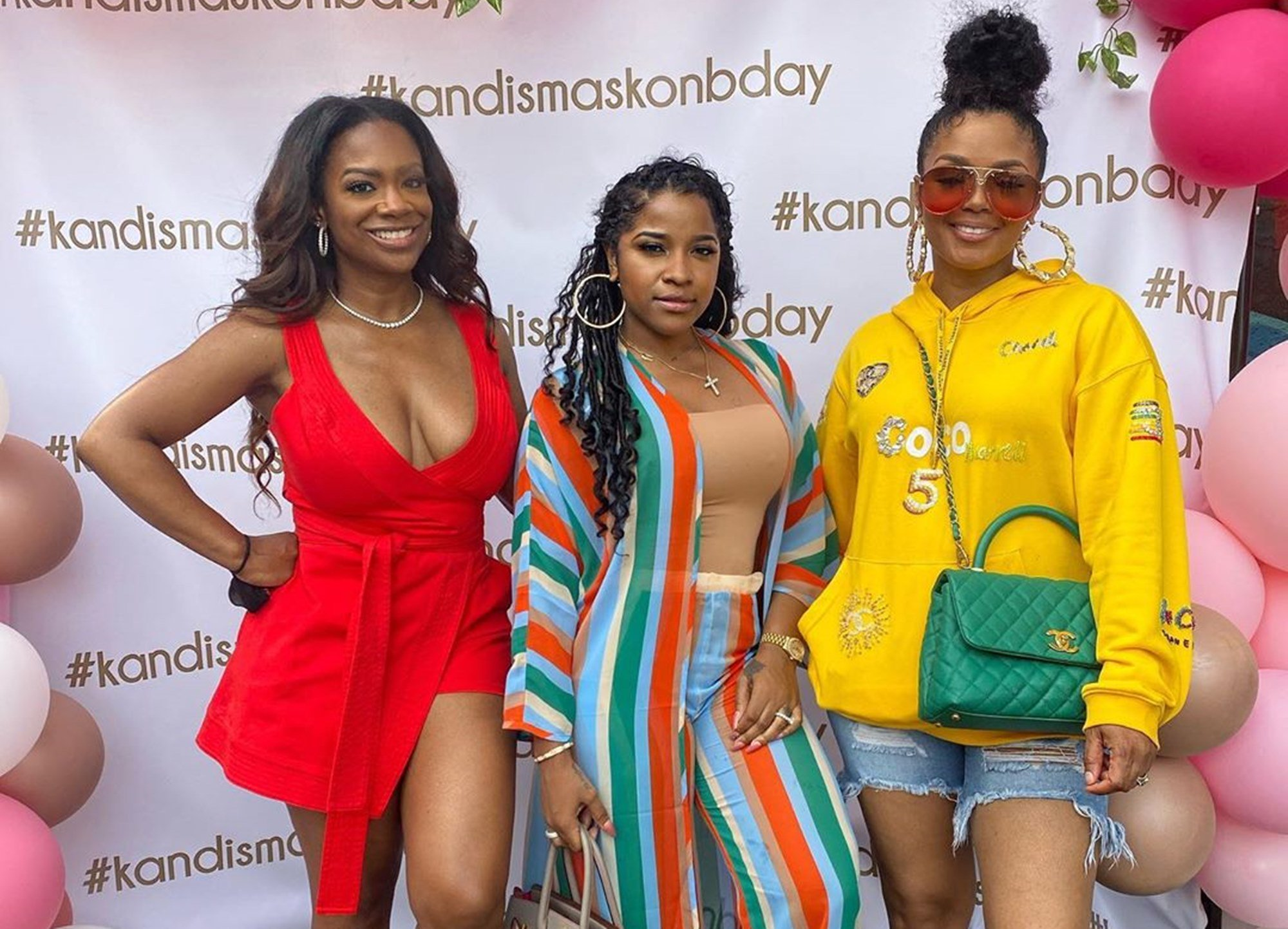 Kandi Burruss And Her Friends — Tiny Harris And Rasheeda Frost — Land In Trouble After Toya Johnson Posted These Photos