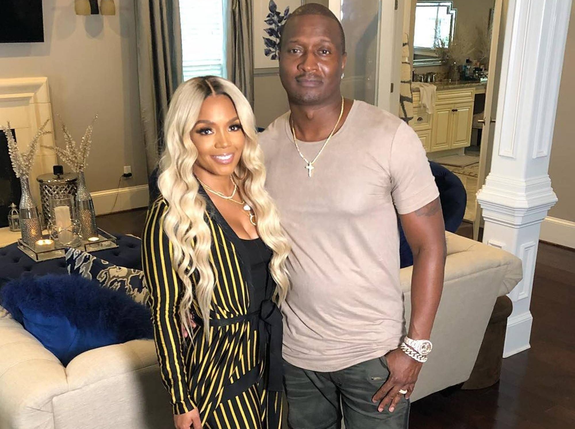 Rasheeda Frost Puts Kirk Frost To Work Again! Check Out What He's Been Doing In This Video