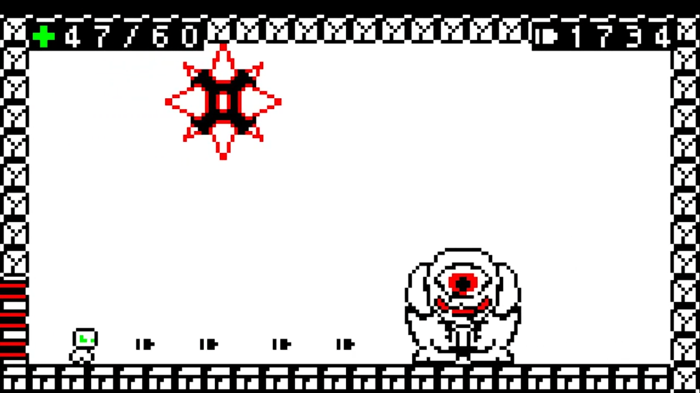 Two Bit Hero Is A Retro Themed Metroidvania Adventure Availiable On Steam, Explore A Black And White Fast PAced Adventure
