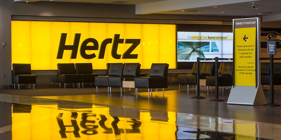 Hertz files for bankruptcy as the coronavirus pandemic crushes the car-rental industry (HTZ)