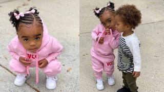 Toya Johnson Makes Fans Day With A Video In Which Her Baby Girl, Reign Rushing In Working Out – Watch It Here!