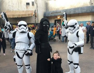 The Force Is Strong With This Adorable and Tiny Star Wars Superfan