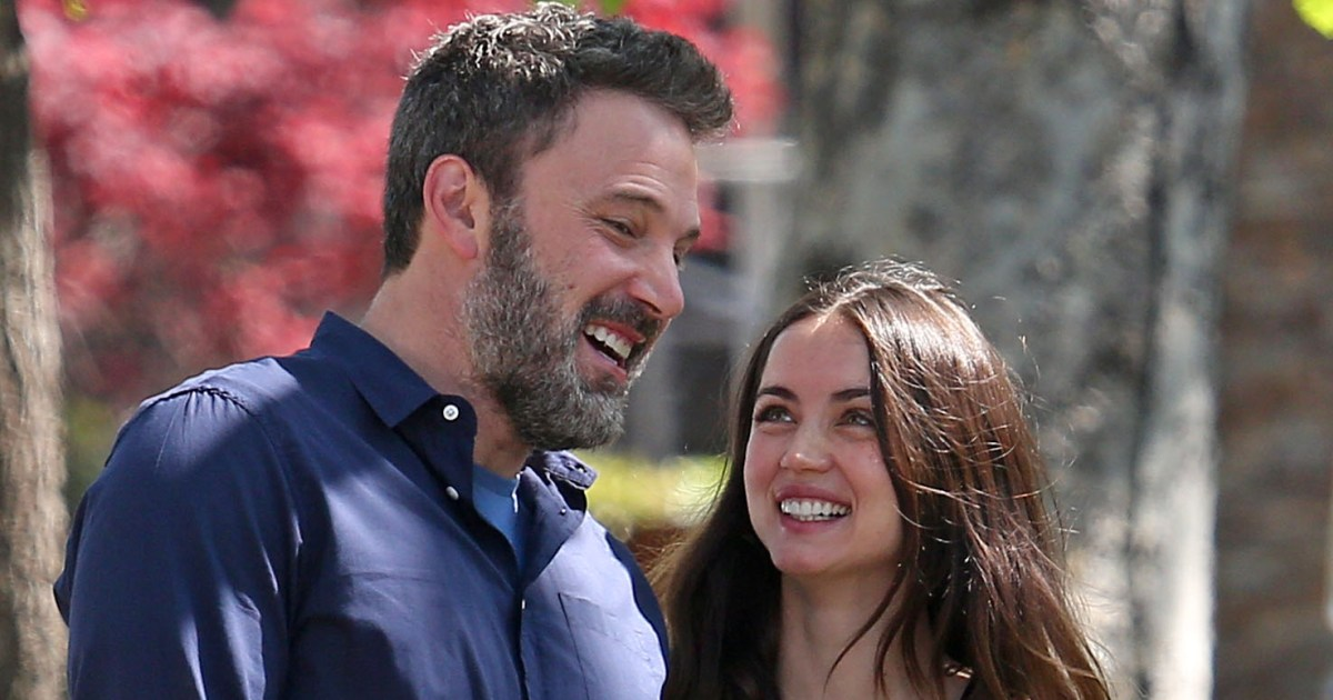 Ben Affleck Steps Out With Girlfriend Ana de Armas and His Kids