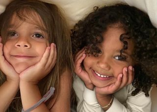 Saint West And Reign Disick Are Way Too Cute In This Photo Kim Kardashian Shared