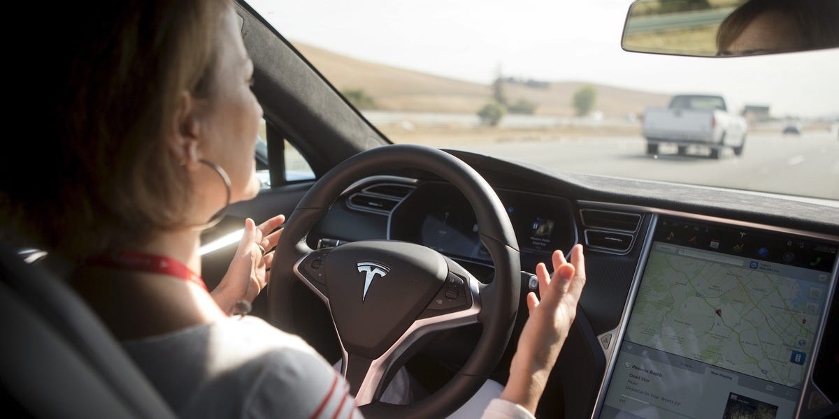 A Tesla on Autopilot slammed into a police car, according to a new report — and now the driver is facing criminal charges