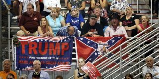 Trump's embrace of the Confederate flag shows us all who he thinks owns America