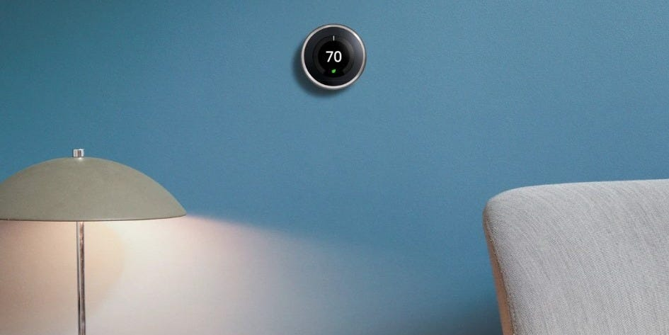 The Home Depot is bundling Google's Nest thermostat, mini smart speaker, and 2 temperature sensors together for $120 off