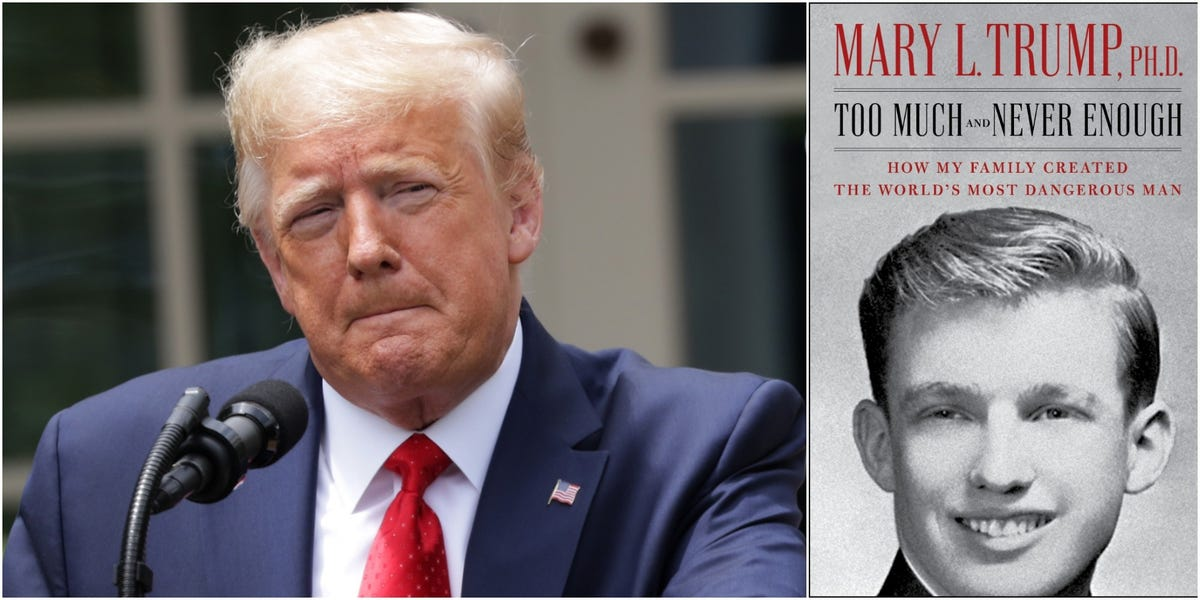 Mary Trump's tell-all book temporarily blocked from being published