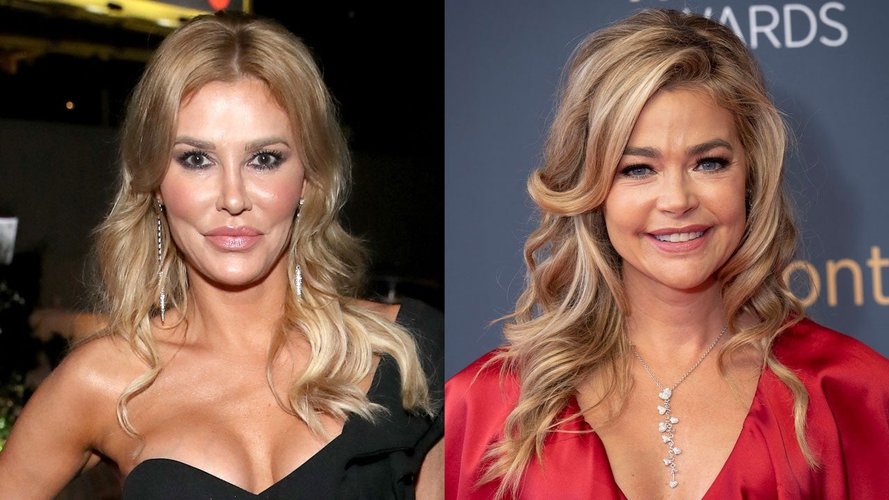 Brandi Glanville Doubles Down On Denise Richards Kiss Photo As Some Fans Doubt It's Really Her – '1 Million Percent DR!'