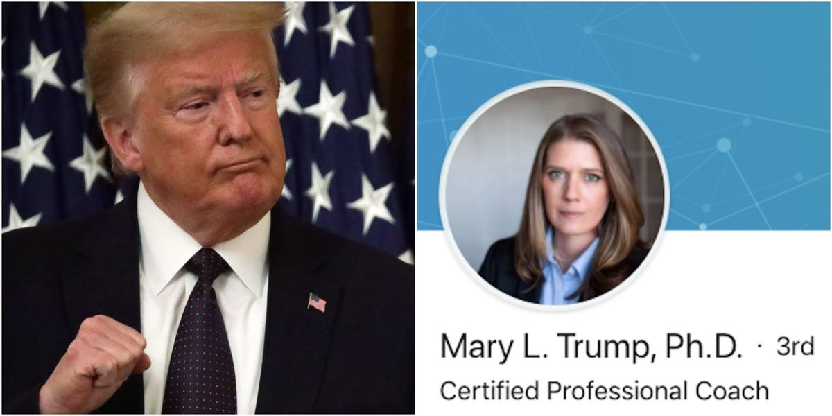 Trump's brother, again, tries to stop tell-all book from Mary Trump as news outlets publish its shocking claims