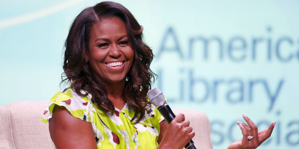 Michelle Obama is hosting a new podcast exclusively on Spotify, titled 'The Michelle Obama Podcast'