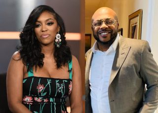 Porsha Williams Looks Divine In This Jaw-Dropping Outfit By Dennis McKinley's Side