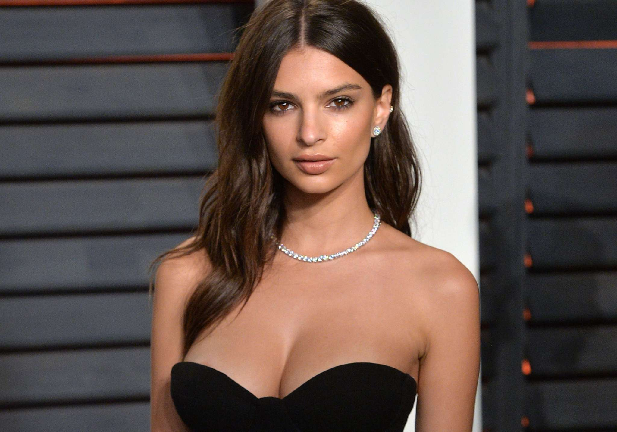 Emily Ratajkowski Stuns In a Tight Little Black Dress And Blonde Hair During Stroll Through New York City!