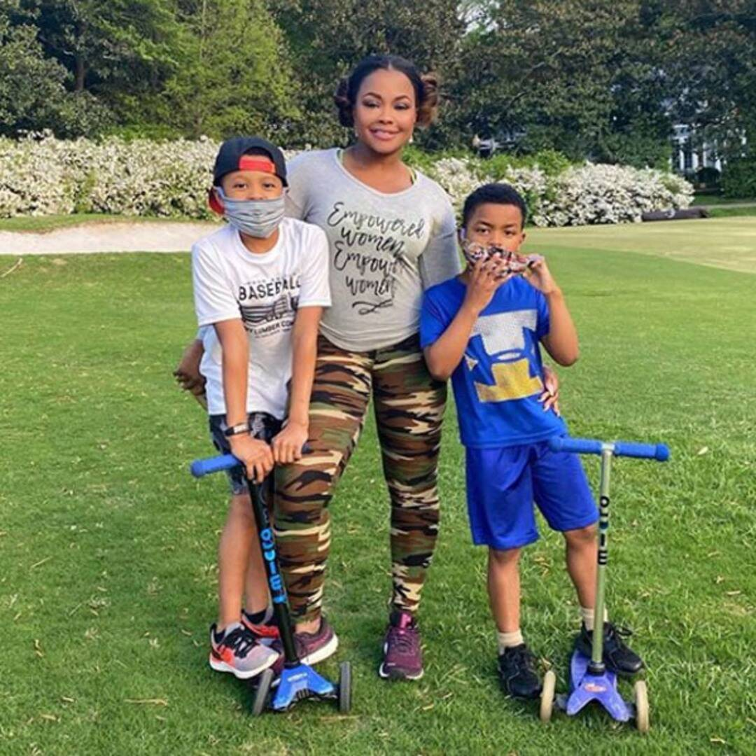 """Phaedra Parks Says Her Sons """"Could Be the Next Hashtag"""" Amid Powerful Discussion About Racism"""