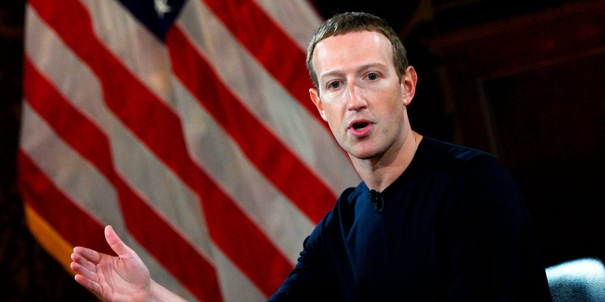 Facebook is adding a label to all posts about voting from political candidates, including the president (FB)