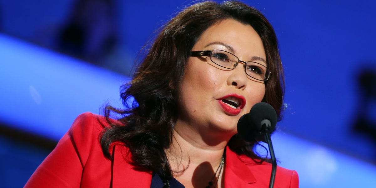 'Walk a mile in my legs': Sen. Tammy Duckworth fires back after Fox News' Tucker Carlson questions her patriotism