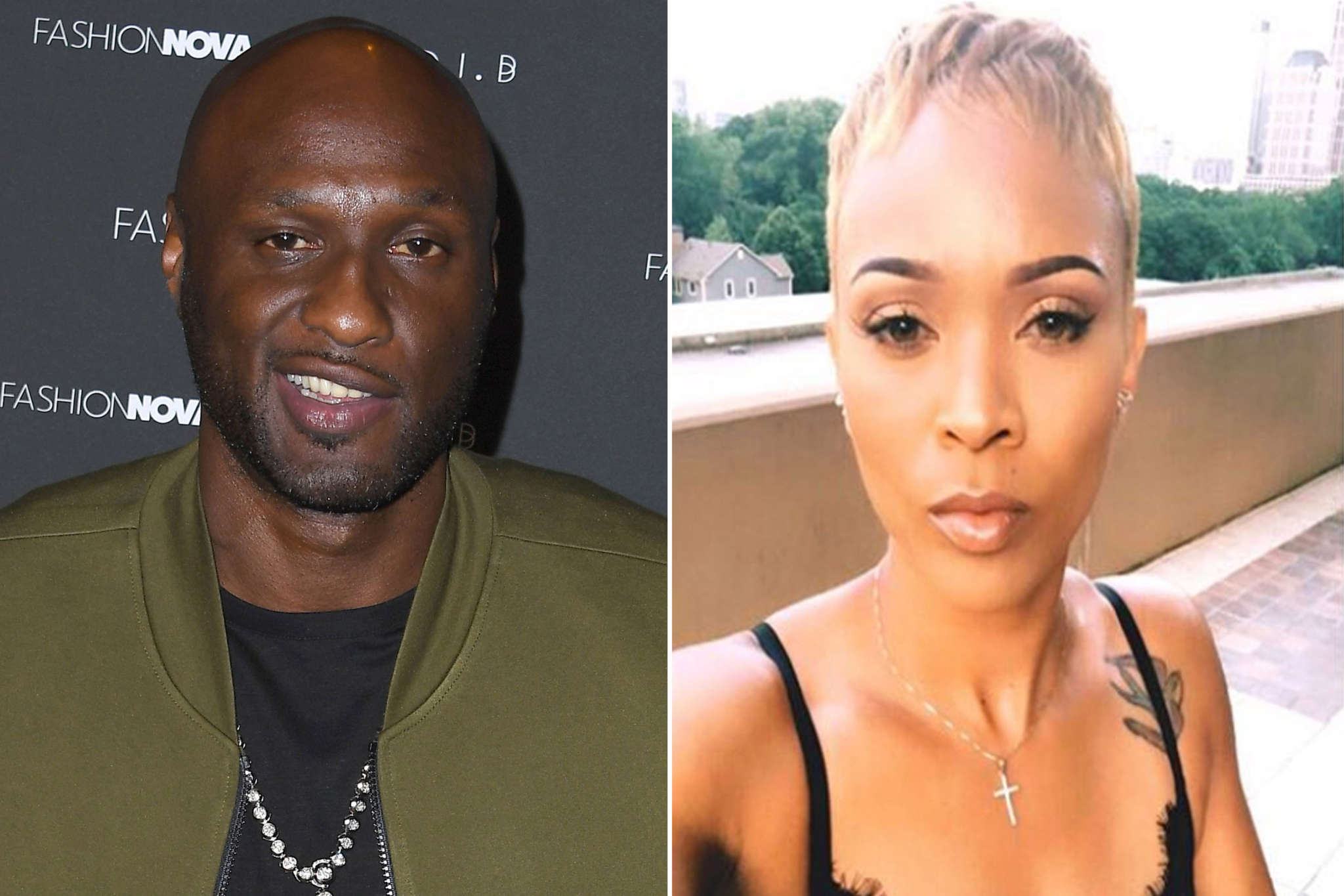 Lamar Odom Wears His Love For Sabrina Parr On His Skin — Gets Mixed Reviews