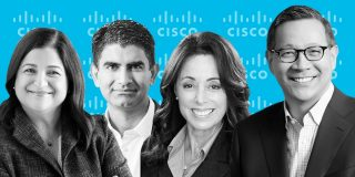 Meet the 7 Cisco power players helping CEO Chuck Robbins steer the company through the coronavirus crisis and thrive in the cloud era (CSCO)