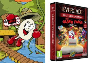 Evercade Announces The Oliver Twins Collection With All Profits Going To Charity