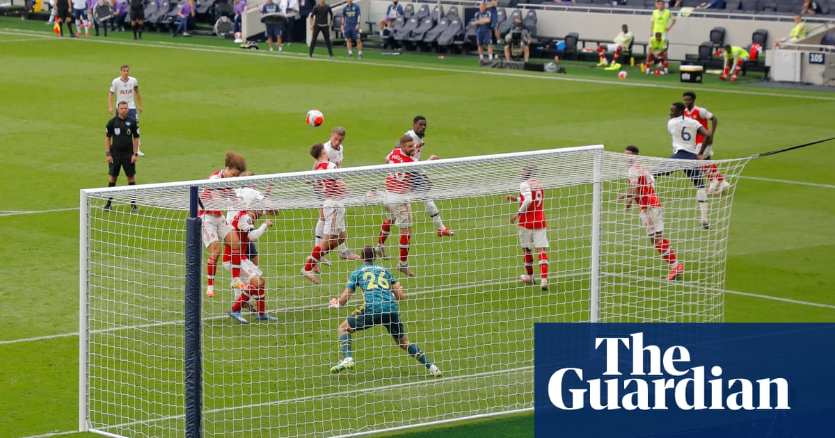 Tottenham win but derby leaves fog of confusion over north London | Jonathan Wilson