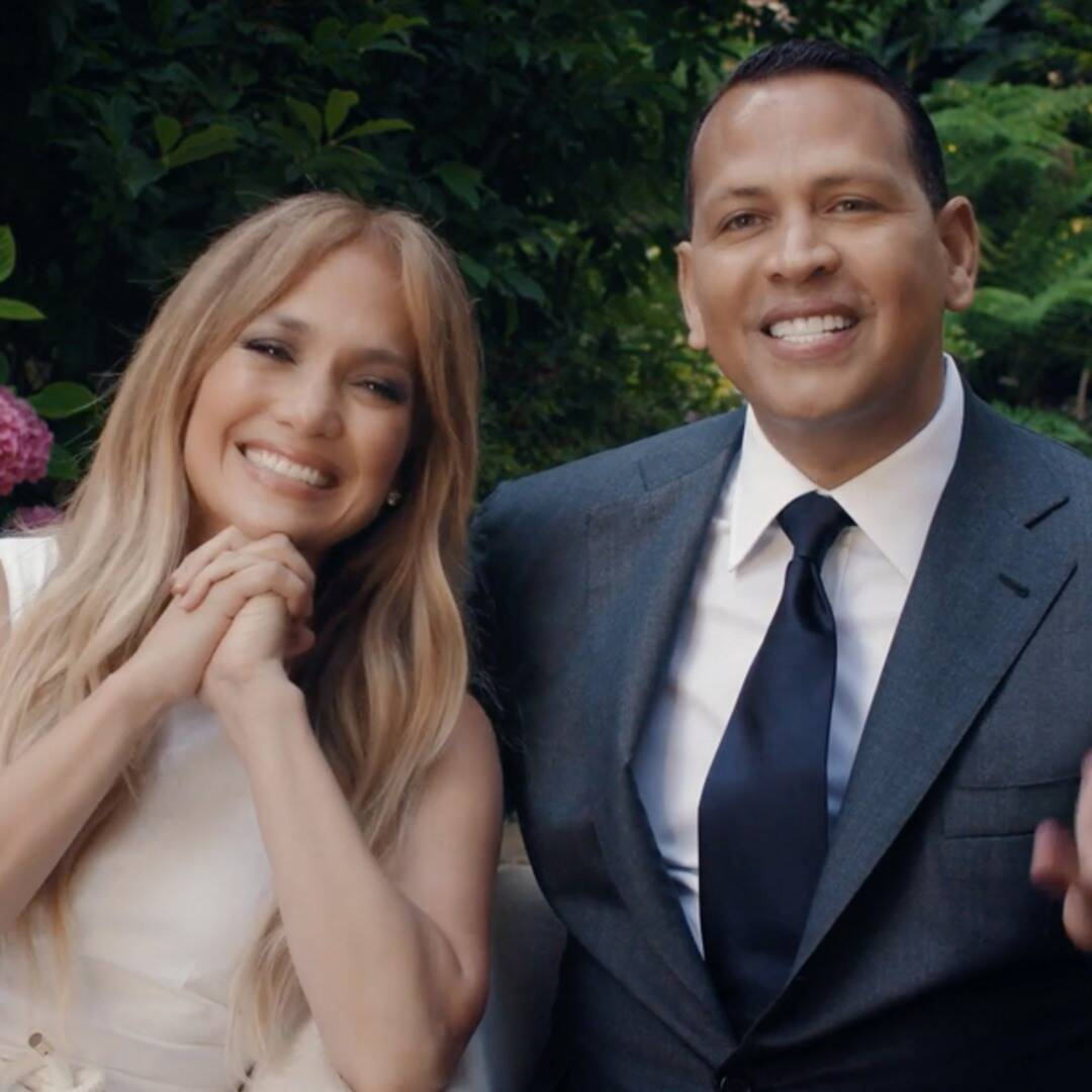 """Jennifer Lopez and Alex Rodriguez Remind the Class of 2020 They Have a """"Higher Calling"""""""