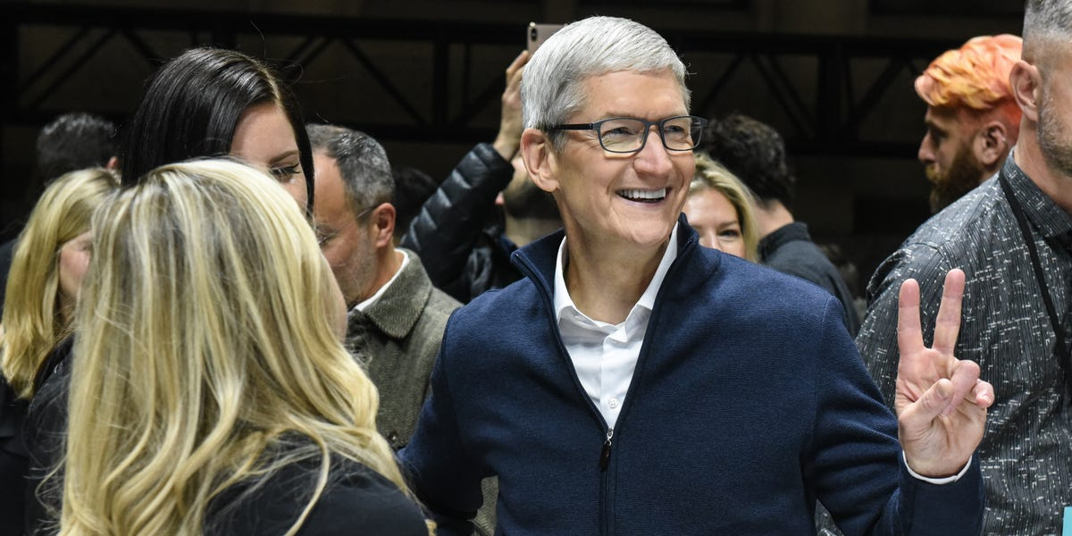 Tim Cook has 2 trillion reasons to smile (AAPL)