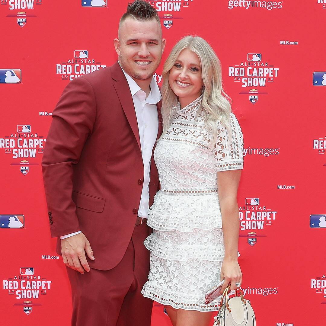 MLB Star Mike Trout and Wife Jessica Welcome Baby Boy